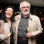 Afonso Roperto e Cristina Oka
