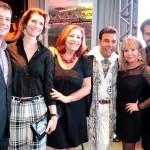 Carlos Betencourt, Laura Wie, Helo Machado, Roberto Camasmie, Sueli Couto e Wilson Dimitrov