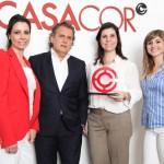 Cristina Rocha, Angelo Derenze,  Patricia Rocha e Rosana Andrade