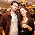 Henrique Milan e Adriana Vasconselos