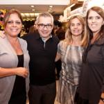 Maria Antonia  Penteado, Ricardo Caminada, Nazaré Fehlauer e  Ivani Mansur