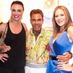 Carol Steig, Roberto Camasmie e Gigi Monteiro