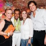 Helna Mottin, Roberto Camasmie, Helô Machado e Eder Veneziani