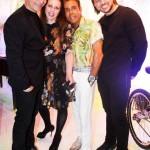 Juan Castiglionee, Suzy Gheler, Roberto Camasmie e Márcio Miranda