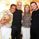 Roberto Camasmie, Juan Castiglionee, Rosy Verdi e Márcio Miranda