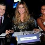 No júri: Boarnerges Gaeta Jr. (diretor da Enter, empresa de eventos do Grupo Bandeirantes, a bela Helen Jabour (modelo e apresentadora) e Rita Batista (apresentadora do Muito + da Band)