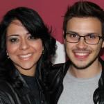 Vanessa de Góes e Eduardo Romano