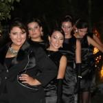 Jéssica Carneiro posa com as modelos