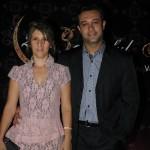 Nagela e Rodrigo Góes