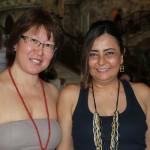 Tiyoko Abe Diniz e Léia D'Monteiro