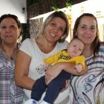 Solange Moraes Freitas, Fernanda Rossi e Thaíse Pizolito de Moraes