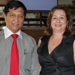 Nelson Sais e Isabel Nascimento