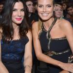 Sandra Bullock e Heidi Klum