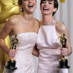 Jennifer Lawrence e Anne Hathaway