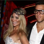 Danielle Winits com o namorado Amaury Nunes