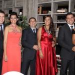 Marcelo Maciel e Tais, Laécio Cordeiro e Rose, Fernando Pena e Adriana