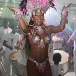 Cintia Mello, eleita a rainha do Carnaval 2013 no Caldeirão do Huck