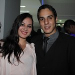Erick Zaib e Juliana Santos