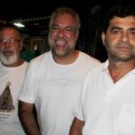 Manoel Lopes, Walmir Pinto e Derli Dourado.