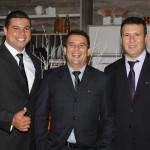 Fernando Pena, Laécio Cordeiro e Marcelo Maciel