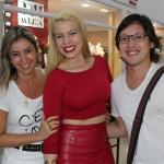 Andréa Oliveira, Aline Cardoso e Guilherme Otani