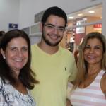 Márcia Siqueira, Leonardo Siqueira e Conceição do Prado
