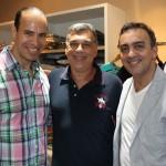 Osmar Cardoso, José Roberto Diniz e Gil Fuentes