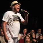 Chiquinho fez uma participaçã especial no musical