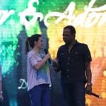 Ana Paula Valadão com Adhemar de Campos