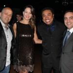 Alvaro Aoas e esposa com Sebah Vieira e Gil Fuentes