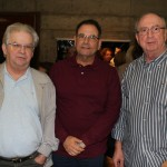 Roberto Almeida, Ivan da Silva e Burle José