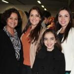 Vera, Layne, Lygia e Mayara Fuentes
