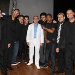 Gil Fuentes com a banda