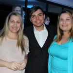 Madaline Paes, Eduardo Silva e Brenda Prado