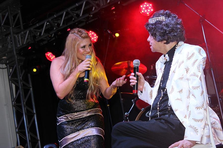Adryana Ribeiro com Cauby Peixoto