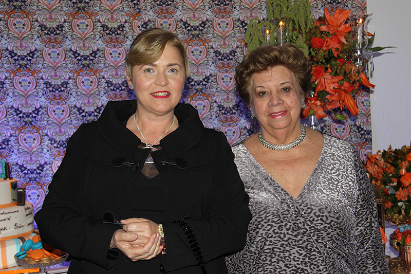 Claudete Finardi e Theresinha Maschietto