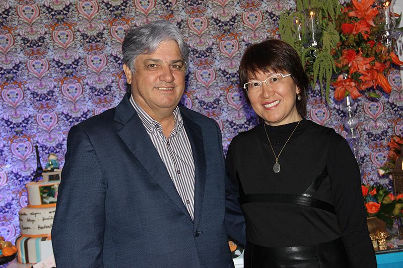 José Raimundo de Araújo Diniz e Tiyoko Luzia Abe Diniz
